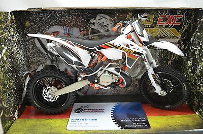 1:12 KTM 300 EXC 6 Days Germany Saxony Bike Motorcycle Diecast model