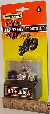 Matchbox Motor Cycles - Harley-Davidson, Sportster - In Sealed Pack. (Vintage)