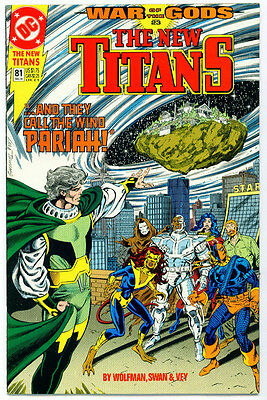 |•.•| NEW TITANS • Issue 81 • War Of The Gods • DC Comics