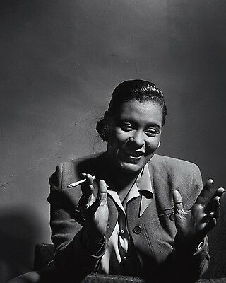 "Billie Holiday 10"" x 8"" Photograph no 21"