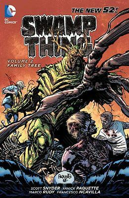 Swamp Thing Volume 2: Family Tree TP, Snyder, Scott | Paperback Book | 978140123