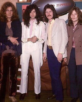 "Led Zepplin 10"" x 8"" Photograph no 4"