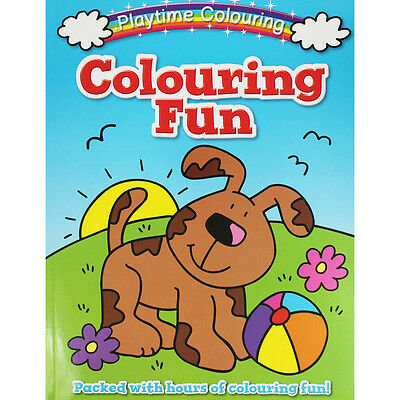 Playtime Colouring Animals Fun by i-Read (Paperback), Children's Books, New