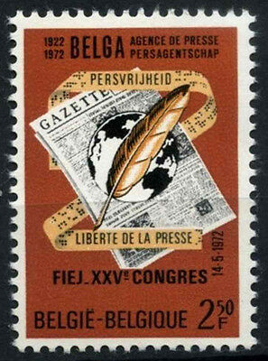 Belgium 1972 SG#2273 Liberty Of The Press MNH #D49237