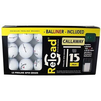 PG Professional Golf 15YLRLBXCALL Pack Of 15 Callaway Balls Alignment Aid