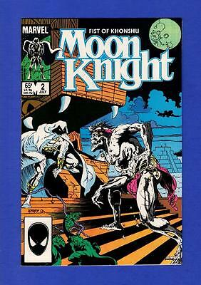 Moon Knight Fist Of Khonshu #2 Nm- 9.2-9.4