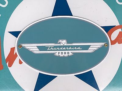 top quality FORD thunderbird PORCELAIN coated 18 GAUGE steel SIGN