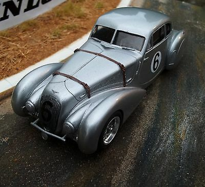 Probuild 1/32 slot car RTR - EMBIRICOS BENTLEY c1950 Le Mans Hay & Hunter - M/B