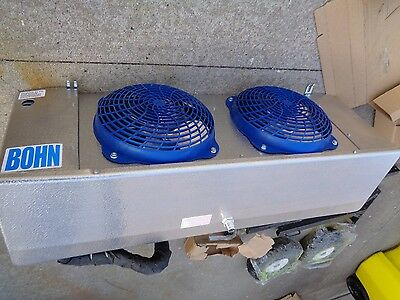 New Bohn Heatcraft Walk In Cooler 2 Fan Refrigeration Unit