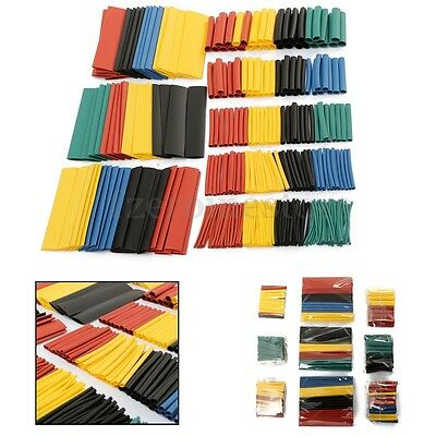 656Pcs 2:1 Heat Shrink Tubing 8 Sizes Assorted Sleeving Wrap Wire Kit Set