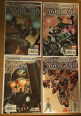 Annihilation Conquest Starlord 1, 2, 3, And 4 Nm Lot Of 4