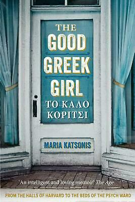 The Good Greek Girl by Maria Katsonis (English) Paperback Book Free Shipping!