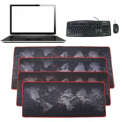 2mm Large Non-Slip Laptop Computer Keyboard World Map Game Mouse Desktop Pad Mat