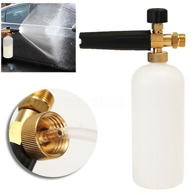 1L Bottle 22mm Adjustable Snow Foam Car Wash Gun Soap Pressure Washer Thread