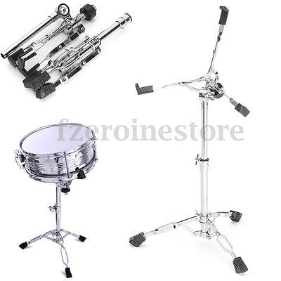 Snare Drum Stand Chrome Hardware Double Braced Holder Percussion For Drum Kit