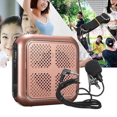Portable M-86 Small Bee Voice Booster PA Amplifier Speaker Waistband Loudspeaker