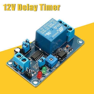 Power-ON Open Delay Timer Relay Switch Alarm Module DC 12V Better than NE555