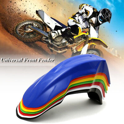Universal Motorcycle Front Fender Mud Guard For KTM Honda Yamaha Kawasaki