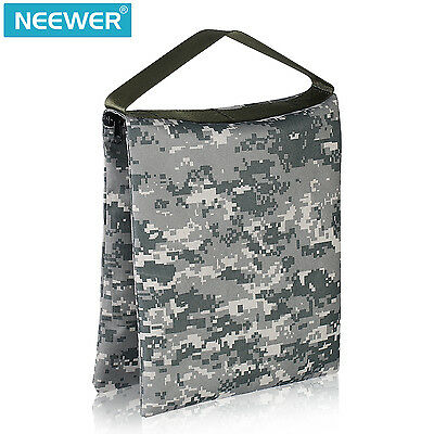 Neewer 26x30cm Sac de Sable Robuste Vide de Video Studio (ACU Camo)