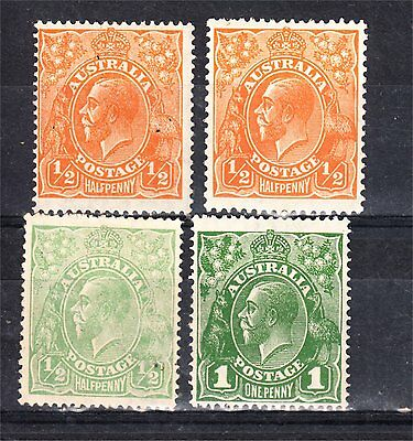 Kgv X 4 Mint See Scan (A29)
