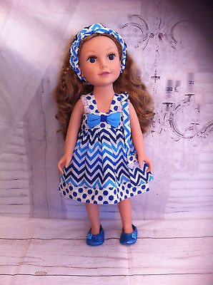 Doll Clothes  American Girl Journey Our Generation Gotz 18 Inch Outfit New Dress