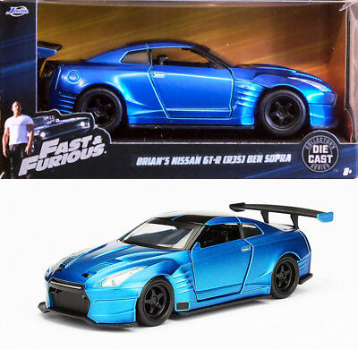 2002 nissan skyline gt r r34 fast and furious brian gtr 1 32 jada toys 97184 eur 12 90. Black Bedroom Furniture Sets. Home Design Ideas