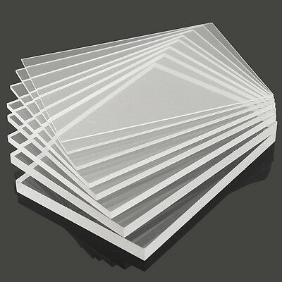 New Acrylic Perspex Sheet Cut to Size Panel Plastic Satin Gloss A2 A3 A4 A5 A6