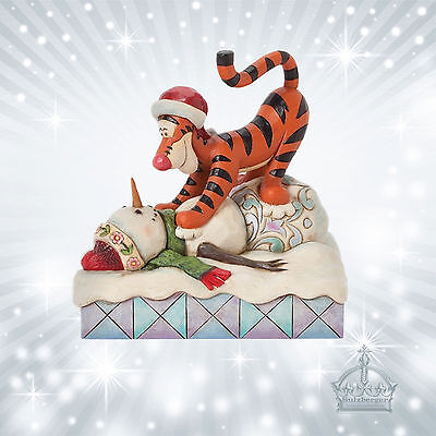 Tigger  Jim Shore Disney Traditions Schneemann Winter Winnie The Pooh  4039044