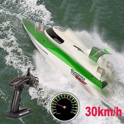 FT009 2.4G 4CH 30km/h Water Cooling High Speed Remote Control Racing RC Boat