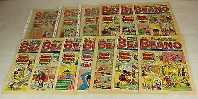 Collection of 13 Beano Comics from 1988 #ARC50JMH