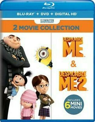 Despicable Me 2 Movie Collection (bd/ - Blu-Ray Region 1 Free Shipping!