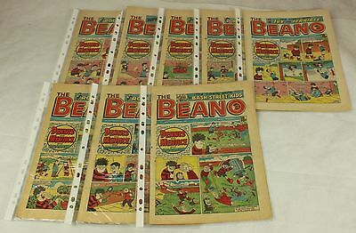 Collection of 8 Beano Comics from 1987 ##HIN50JMH