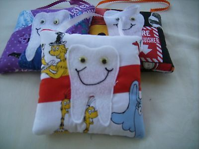 Handmade fabric Tooth fairy pillow