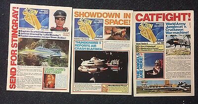 Action 21 nos 1 2 & 3 Gerry Anderson