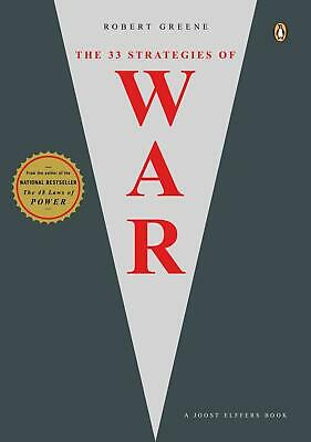 The 33 Strategies of War by Robert Greene (English) Paperback Book Free Shipping