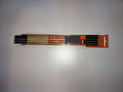 Bahco Folding Wooden Rule WR2 Metric & Imperial