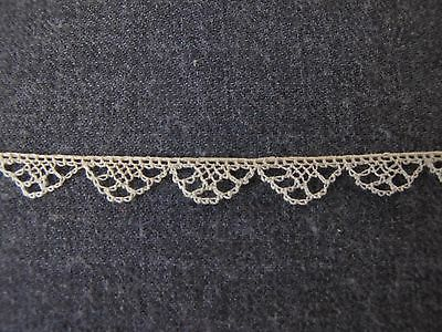 Antique Victorian  Lace Trim Edging  2 Yards Unused   7575 E