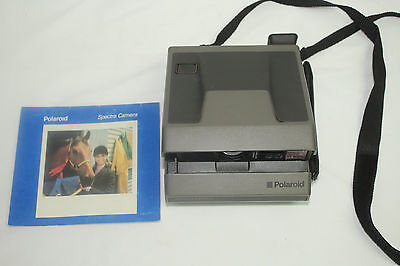 Vintage Polaroid Spectra System Instant Film Camera w/ Manual Photography Used