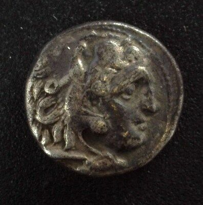 Alexander Iii The Great 336-323 B.c. Silver Drachm  About Uncirculated