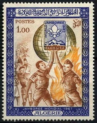 Algeria 1967 SG#503 World Scout Jamboree MH #D49353