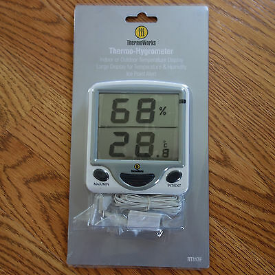 NEW Thermoworks Thermo Hygrometer (RT817E)