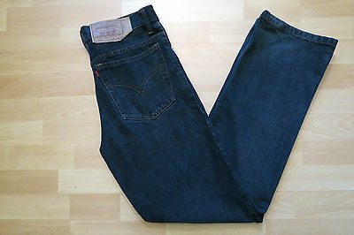 LEVIS 501 Jeans W32 L32 M/38/L/40 High Waist Hose Denim grau TRUE VINTAGE Retro