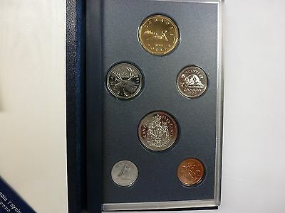 Canada 1993 6-coin Specimen (Proof) set - from RCM with COA