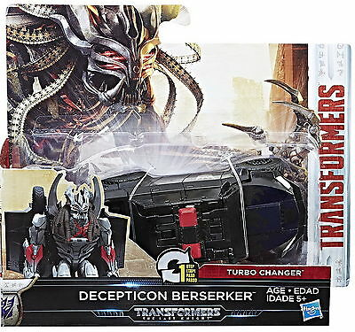 Transformers The Last Knight 1-Step Turbo Changer Wave 2 - Decepticon Berserker