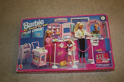 BARBIE SO MUCH TO DO POST OFFICE  New Sealed