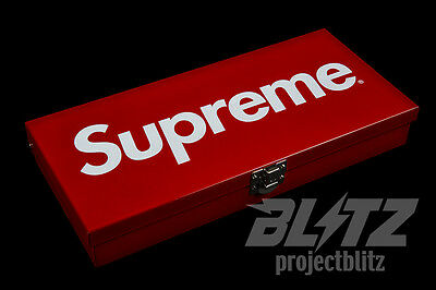 Supreme Large Metal Storage Box Ss17 2017 Accessory