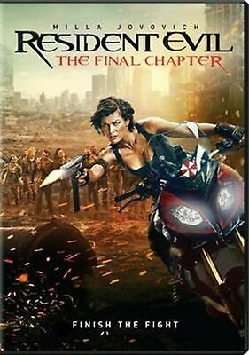 Resident Evil: the Final Chapter - DVD Region 1 Free Shipping!