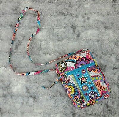 Justice Girls Colorful Sequin Quilted Crossbody Bag Purse