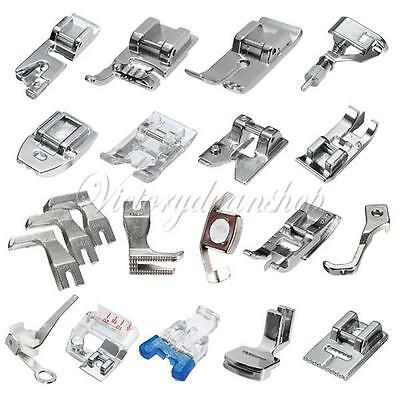 Multi Style Presser Foot Set For Singer Brother Janome Domestic Sewing Machines