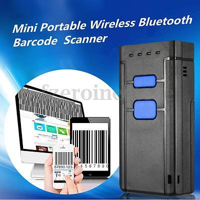 Mini Portable Wireless Bluetooth Barcode Laser Scanner For Apple IOS Android UPC